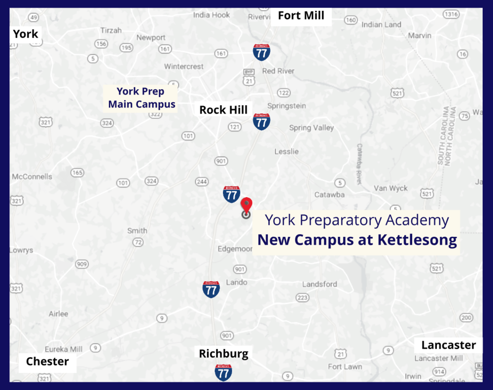 York Prep Announces Location of New Campus Opening Fall 2022