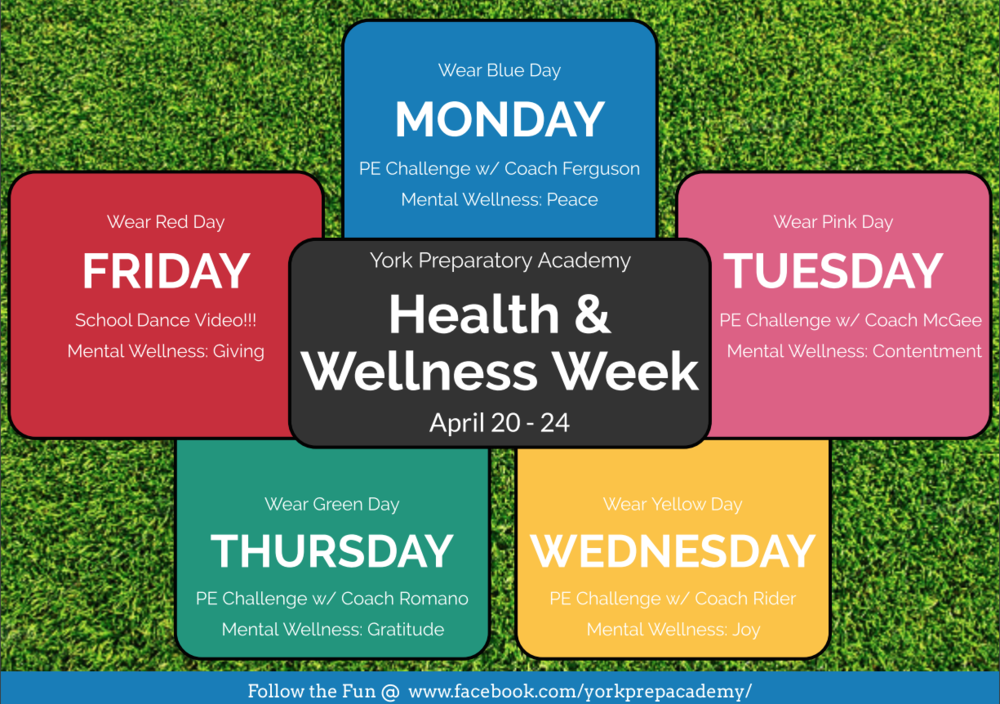 Join Us For Health & Wellness Week!