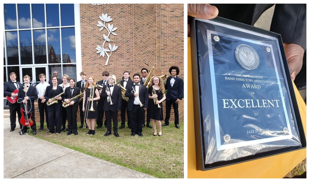 Jazz Ensemble Receives Excellent Rating