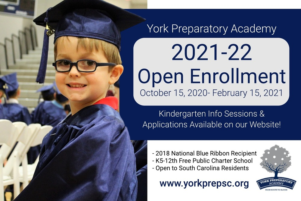 2021-22 Enrollment Application Now Open!