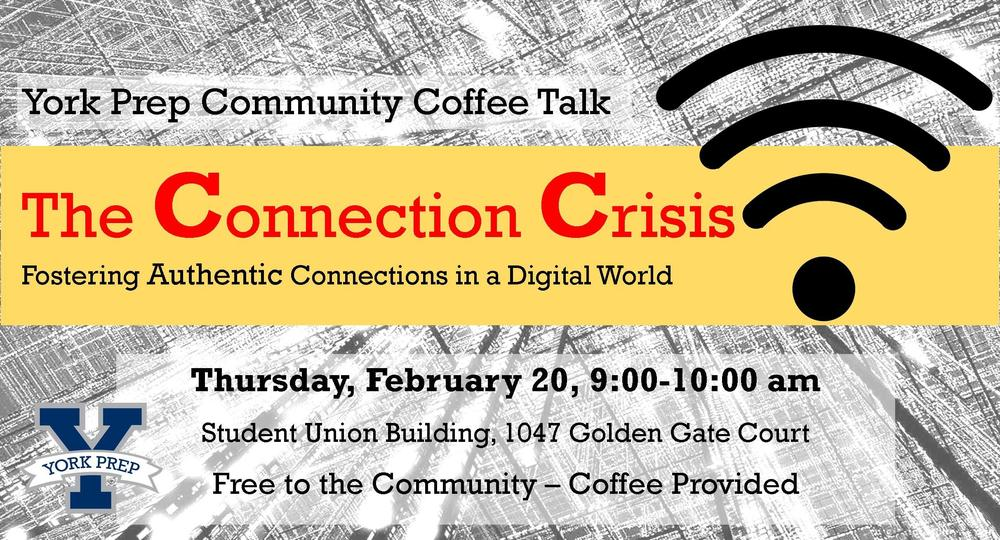 Free Community Event: The Connection Crisis