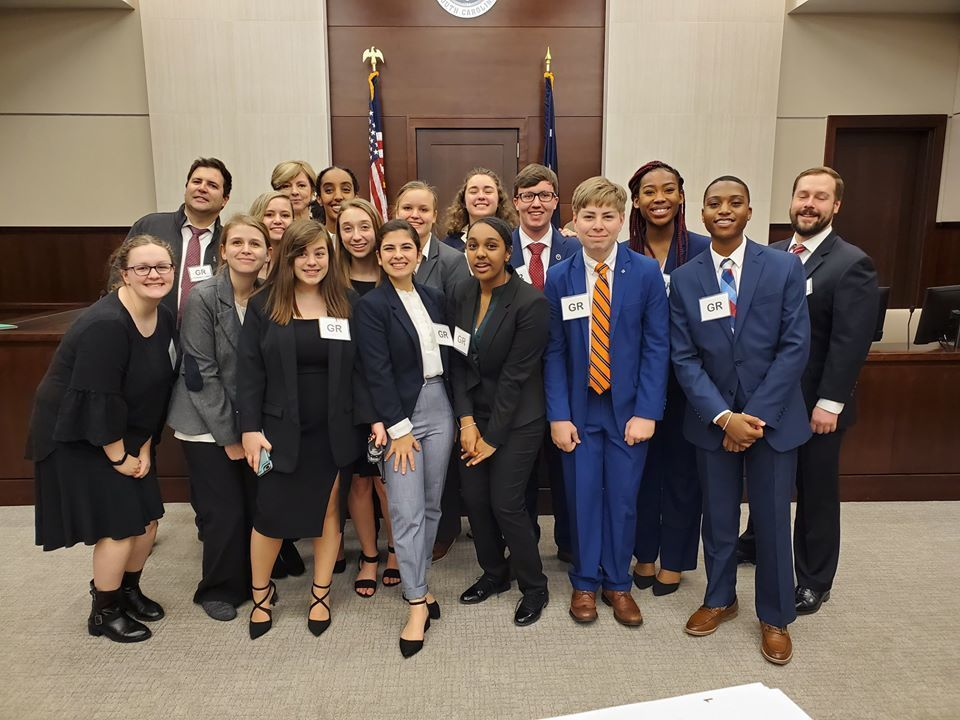 High School Mock Trial Advancing to State Competition