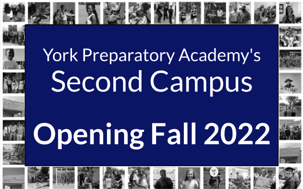 York Prep Announces New Campus Opening Fall 2022