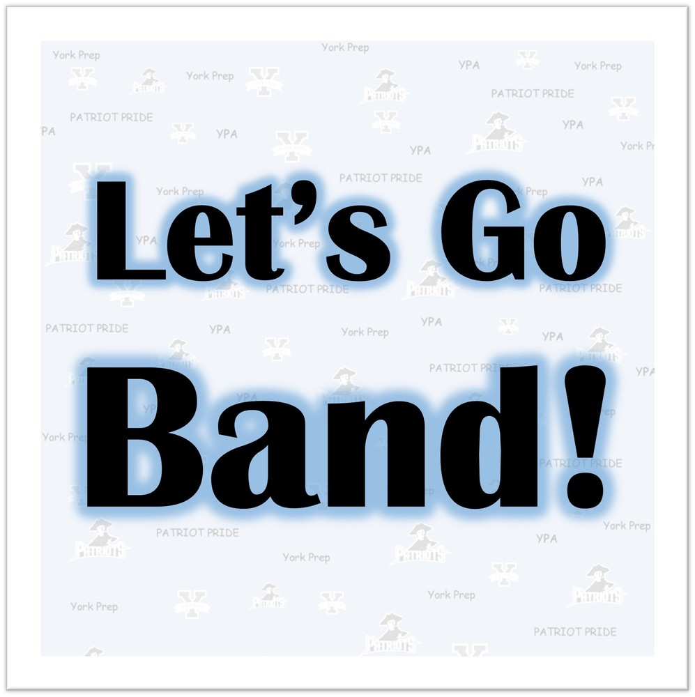 Good Luck Band!