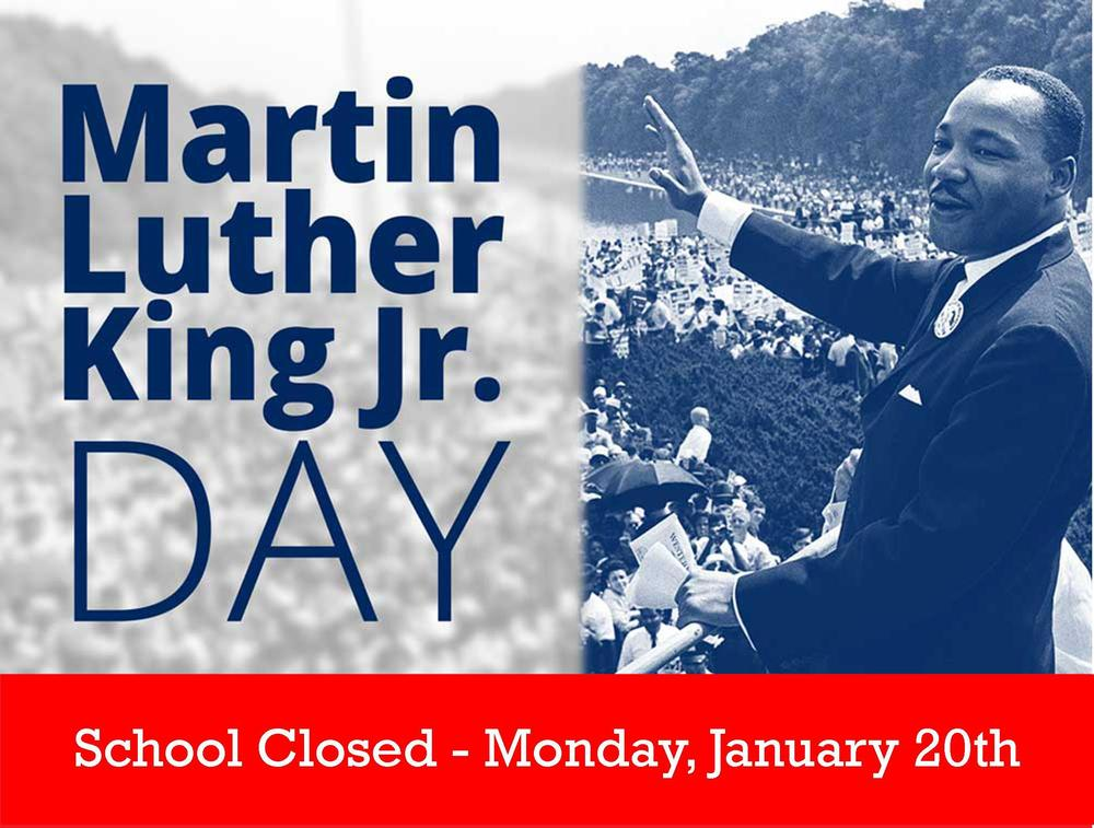 York Prep- Closed, Monday, 1/20