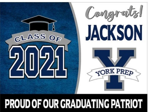 Order Your 2021 Graduate Yard Sign!