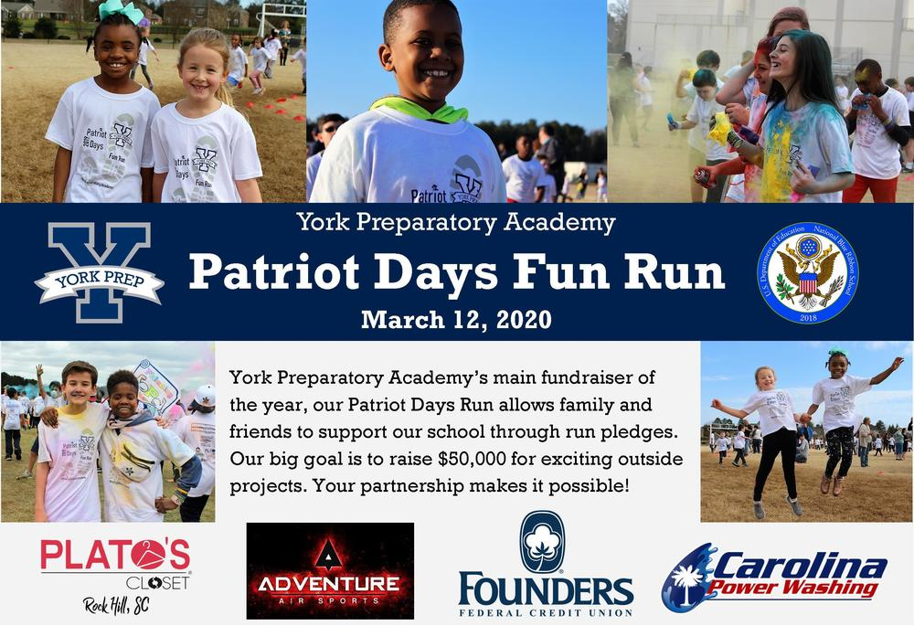 Patriots Days Run- March 12th