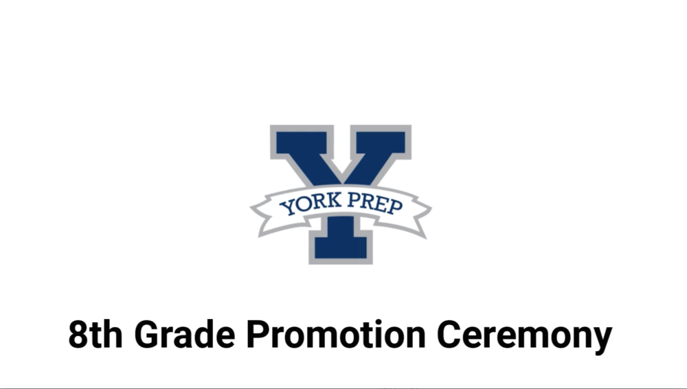 York Prep 8th Grade Promotion Ceremony