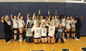 Middle School Volleyball Wins Queen City Tournament